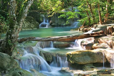 Erawan Waterfall Kanchanaburi David Wirawan Photography