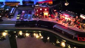 Lionel Christmas Trains And Dept 56 Snow Village 2014