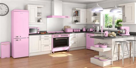 pink retro kitchen collection swan fearne mixers blenders retro appliances ao com