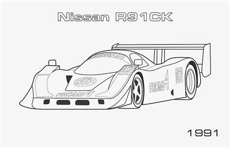 Gtr Kleurplaat by Cars Nissan Gtr Coloring Page Nissangtr Coloring Page