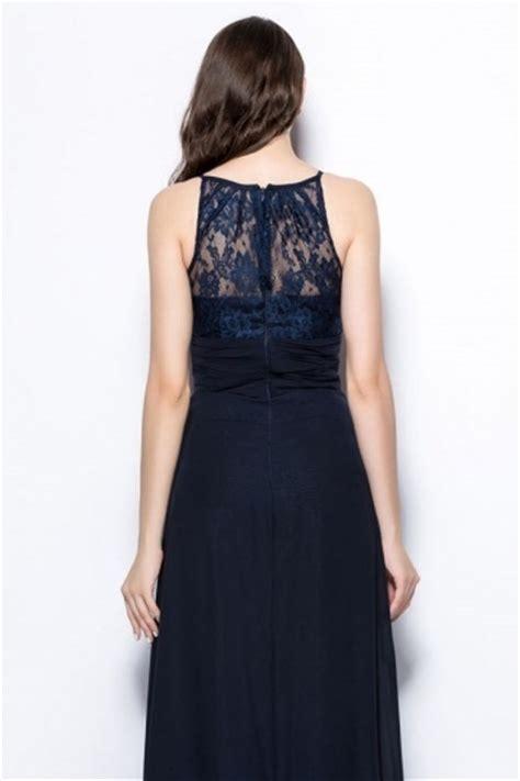 robe pour mariage bleu marine dentelle chic robe longue bleu marine 224 haut dentelle pour mariage