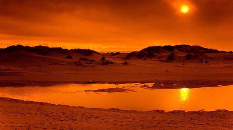 orange background desert hd orange aesthetic wallpapers