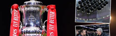 FA Cup draw simulated sees Chelsea vs Spurs, plus Man Utd ...