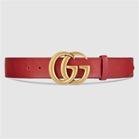 brass clothing rack gucci leather belt with g buckle in for lyst