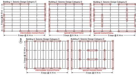 spectacular a frame blueprints structural robustness prototype buildings nist
