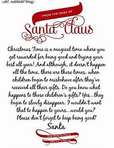 kids letter from santa sample letter template With children s letters to santa