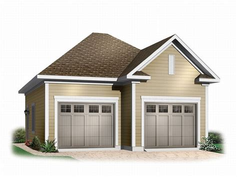 2-car Boat Storage Garage Plan