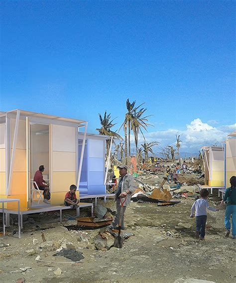 wy  architects flat pack disaster shelter  southeast
