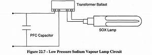 Low Pressure Sodium Vapour Lamp Circuit Diagram