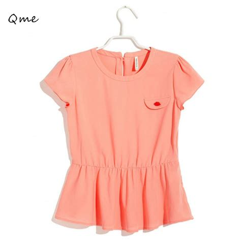 summer tops and blouses aliexpress com buy blouses peplum blouse