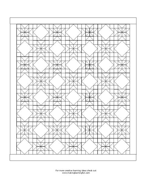 quilt coloring pages crazy quilt coloring pages