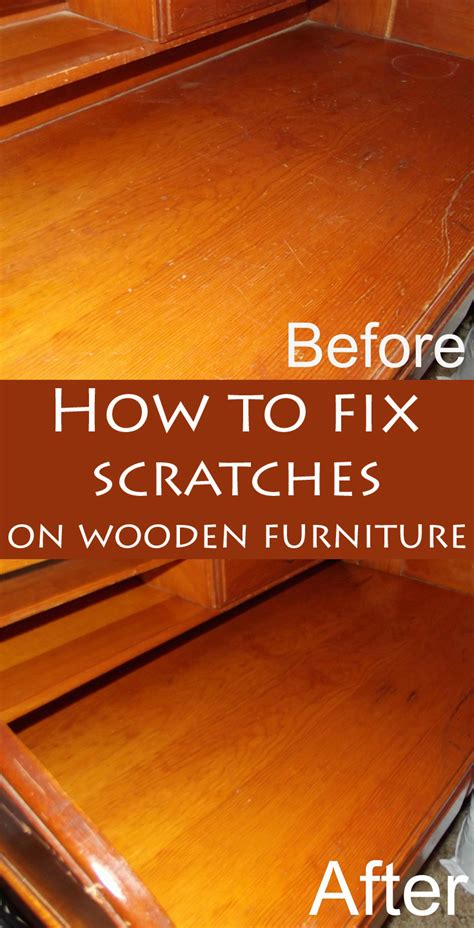 How To Fix Scratches On Wooden Furniture