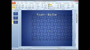 Puzzle Template In Powerpoint 2010
