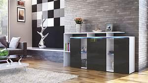 Tv Sideboard Weiß Hochglanz : sideboard tv board anrichte kommode lissabon wei in hochglanz naturt nen ebay ~ Whattoseeinmadrid.com Haus und Dekorationen