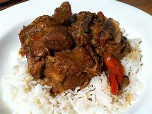 jamaican goat curry | food for thought