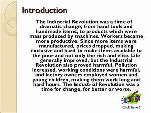 short note on industrial revolution