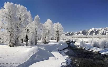Winter Beauty Nature Wallpapers Desktop Season Scenes