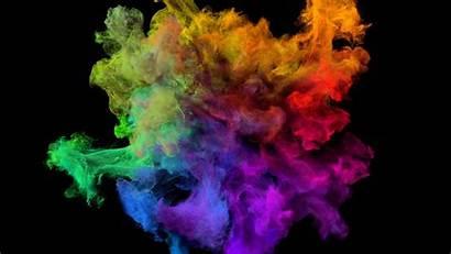 Explosion Paint Wallpapers Spectrum Blast Colored Effect