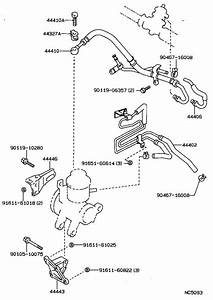 Toyota Corolla Bracket  Pump  Brakes  Gts  Suspension