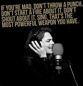 Gerard Way Quotes. QuotesGram