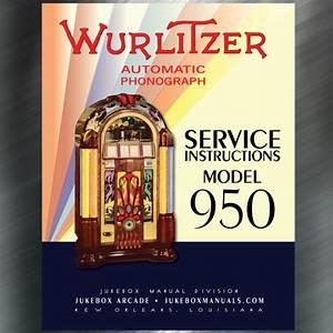 Wurlitzer Model 950 Service Instructions Amplifier