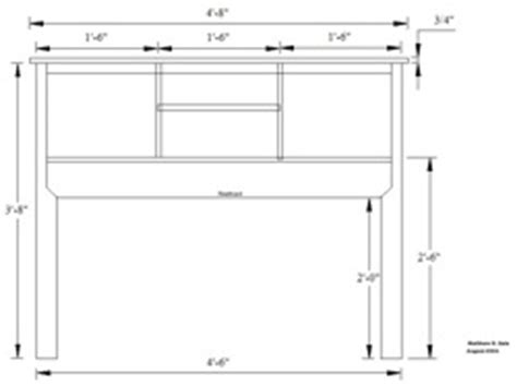 bookcase headboard plans woodworking plans