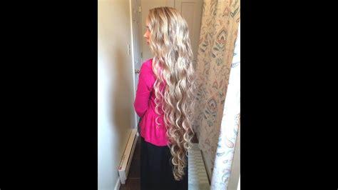 long wavy hair youtube