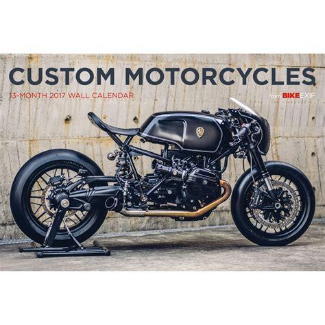 Bike Exif Custom Motorcycle Calendar 2017  Bike Exif