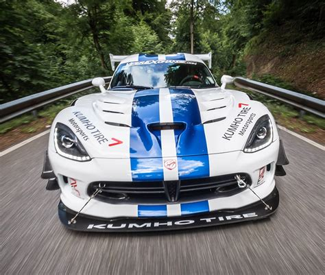 Viper Acr Nurburgring Time dodge viper acr dominates the green hell