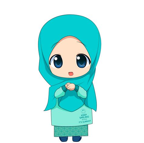 clip jilbab chibi muslimah 2 by taj92 on deviantart