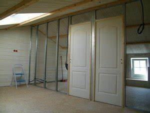 Comment Poser Une Porte A Galandage En Renovation : comment poser une ossature de cloison placo ~ Melissatoandfro.com Idées de Décoration