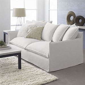 Sofa style 20 chic seating ideas for Modern contemporary linen sectional sofa with