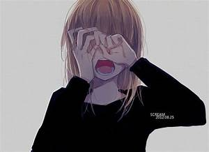 17 Best images about Anime girls crying like me on ...