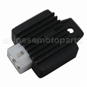 Rectifier    Voltage Regulator For Scooter With Gy6 150cc