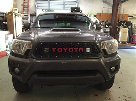 toyota tacoma letter font template dbcustomez 2012 2015 tacoma grille raised or cut letter