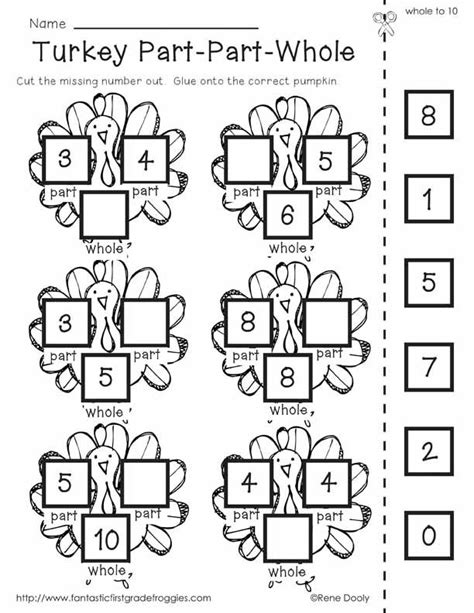 Thanksgiving Math Fun Sheets  7 Thanksgiving Math Lessons And Ideasthanksgiving Activities For