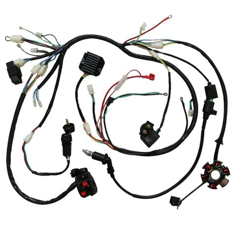 Atv Coil Wiring by Gy6 150cc Electric Wire Wiring Harness Solenoid Switch