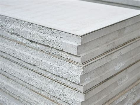 lightweight aggregate sandwich panel heat insulation precast concrete sandwich wall panel in