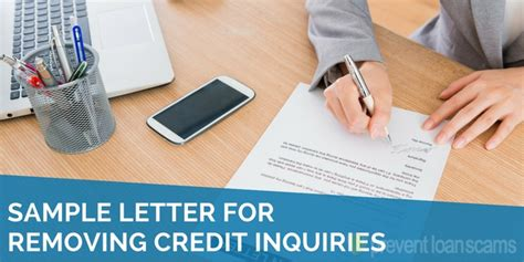 sample letter  removing credit inquiries  updated