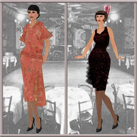 The Roaring 20s And Flapper Fashion Ewing Fashion Agency