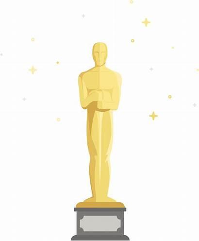 Clipart Oscar Statue Cartoon Figurine Oscars Transparent