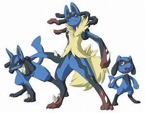 Pokemon : Lucario, Mega Lucario and Riolu | The Amazing ...