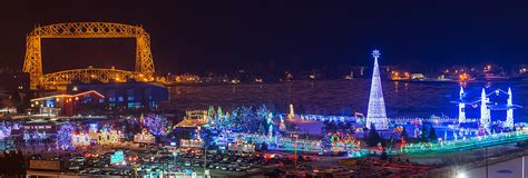 duluth christmas lights photograph by paul freidlund