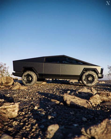CGI - CYBERTRUCK TESLA on Behance | Tesla roadster, Tesla ...
