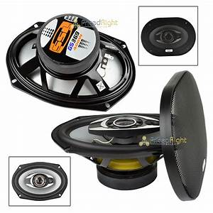 6x9 400 Watt Gs369 Ssl 3 Way 6 U0026quot X9 U0026quot  Speakers With