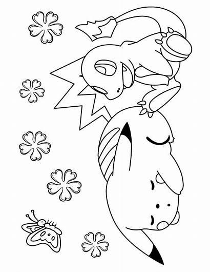 Pokemon Ausmalbilder Kleurplaten Coloring Malvorlagen Colorear Dibujos