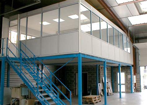 le de bureau industrielle mezzanine industrielle plateforme de stockage