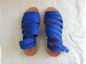 Cobalt Blue Women's Shoes Sandals