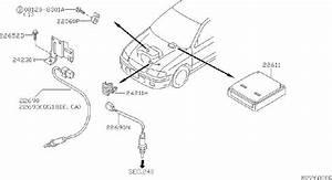Nissan Sentra Engine Control Module - 23710-8u423