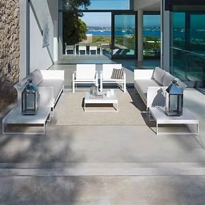 un salon pour mon jardin elle decoration With deco pour jardin exterieur 14 deco salon gris blanc rose